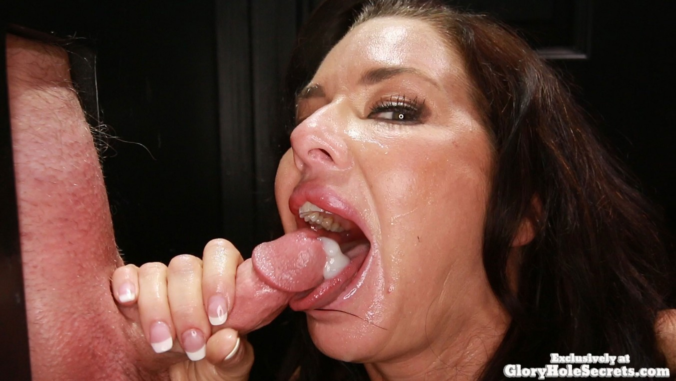 gloryhole swallow veronica