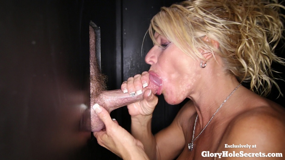 Glory holes cumshot