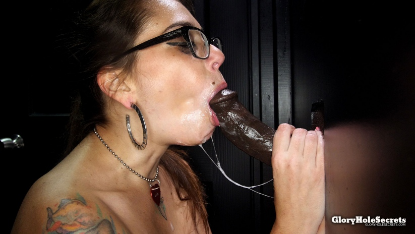 Kacie\'s First Gloryhole Video