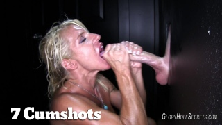 Gina\'s first Glory Hole Video