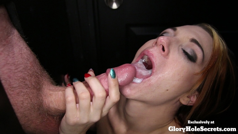 Ivy\'s First Gloryhole Video