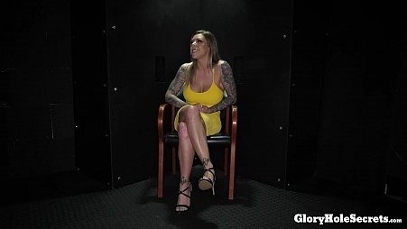 Karma\'s First Gloryhole Video