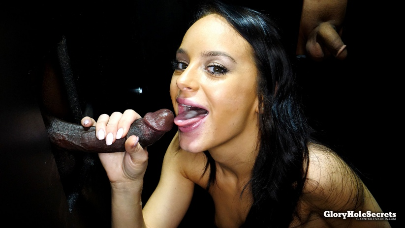 Kylie\'s First Gloyhole Video