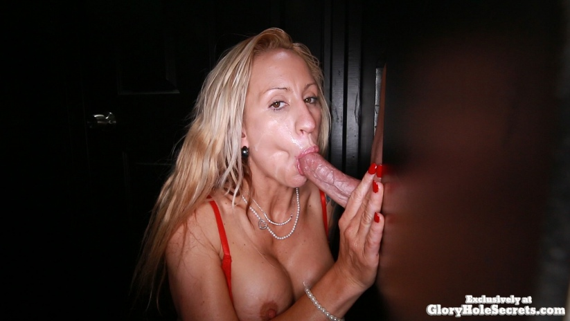 Zoey\'s First Gloryhole Video